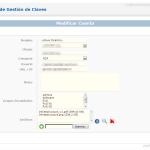 phpPMS Editar Cuenta / Edit Account